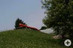 Spielplatz Reblandhalle Rutsche1