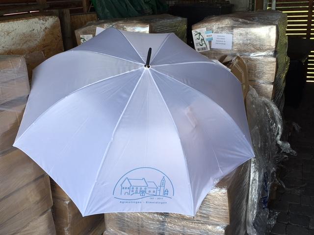Schirm fürs Jubiläum