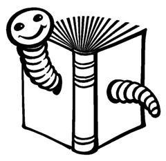 Logo Eimeldinger Bücherwurm