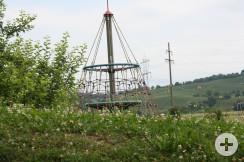 Spielplatz Reblandhalle Kletterturm2
