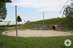 Spielplatz Reblandhalle Sandkasten