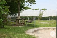 Spielplatz Reblandhalle Sitzplatz