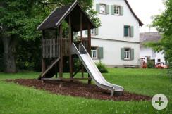 Spielplatz HdB Klettergerüst Rutsche2