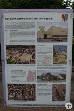 Denkmal Maschienenfabrik Denktafel Rückseite