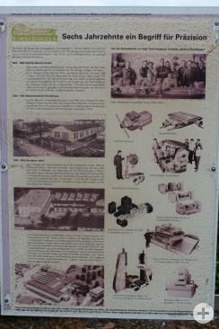 Denkmal Maschienenfabrik Denktafel Vorderseite