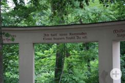 Kriegesdenkmal Innschrift
